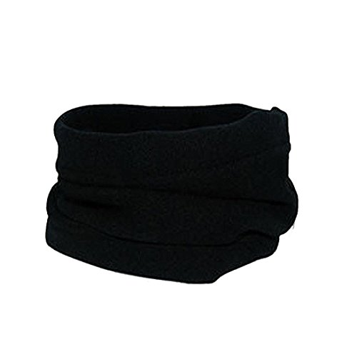 Collars Mask Hat Scarf , Ikevan Male and Female Hedging Sets of Winter Multifunctional Hood Warm Mask Hats (Black)