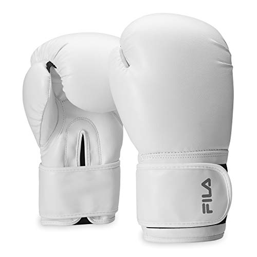 FILA Accessories Boxing Gloves for Men & Women – Kickboxing, Heavy Bag Punching Mitts, MMA, Muay Thai, Sparring Pro…
