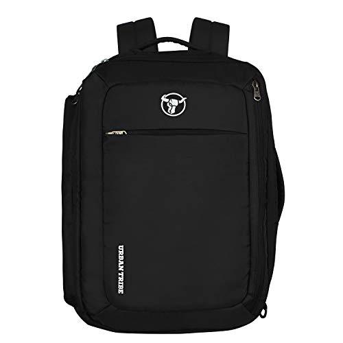 Urban Tribe Trans4mer Black Laptop Backpack Cum Messenger Bag Cum Briefcase  20 litres