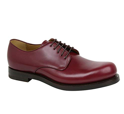Gucci Lace-up Bordeaux Leather Dress Shoes 353021 6237 (7 G / 8 ()