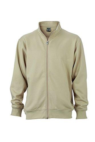 Giacca Coreana Workwear Chiusura In Stone Jacket Felpa Sweat Lampo Con E Colletto Alla XAXrqp