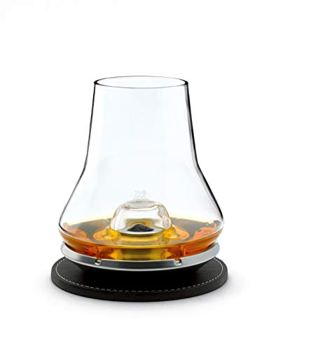 Peugeot 266097 Impitoyable Whisky Tasting Set. Includes Cordial Glass and Chilling Base ()