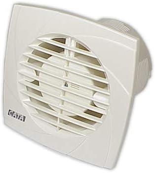 Cata | Extractor de baño | Modelo B10 PLUS | Bajo consumo | Extractores de aire de alta eficiencia energética | Extractor de baño silencioso | Extractor de aire para baño | Color Blanco | 10 Unidades