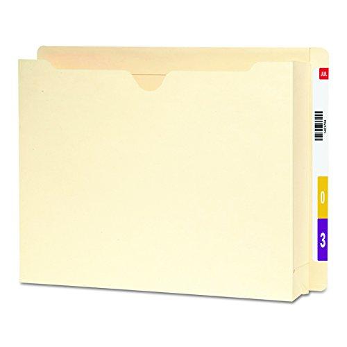 Smead Expanding End Tab File Jacket, Straight-Cut Tab, 2