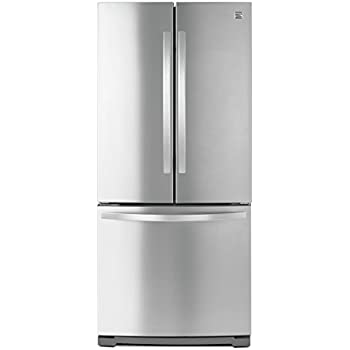 Non Dispense French Door Bottom Freezer Refrigerator In