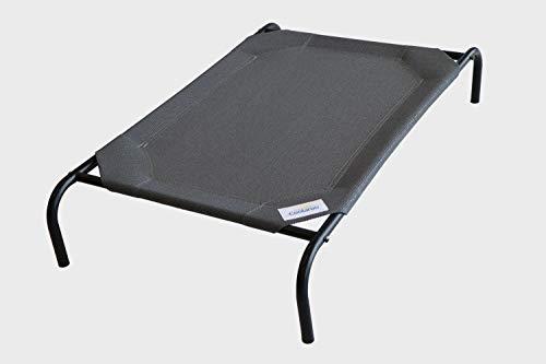 Coolaroo The Original Elevated Pet Bed, Medium, Gunmetal