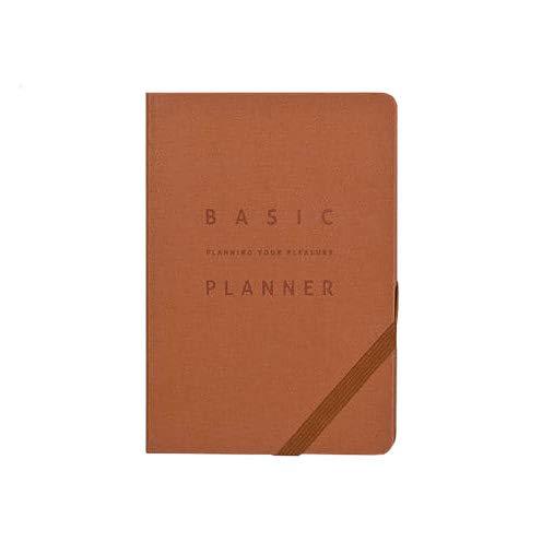Amazon.com : Ardium Medium Basic Planner - Plain (Real Red ...