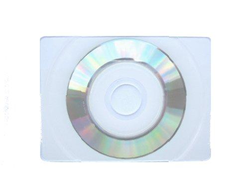 1000 True Retangular Business Card CD-R, WHITE INKJET Top, JS404 PLUS SLEEVE by LDB