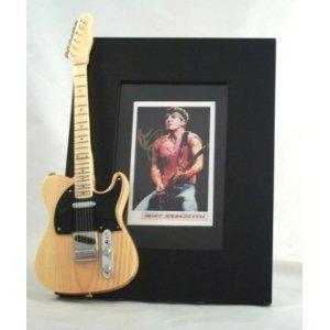 BRUCE SPRINGSTEEN Miniature Guitar Photo Frame Boss
