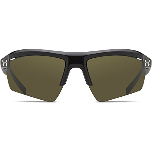Under Armour Core 2.0 Mens Sunglasses, Black/Charcoal Gray Rubber/Game Day, - Core Sunglasses Under Armour