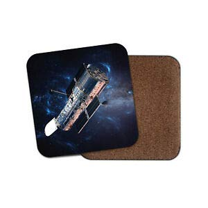 JIANCAICHEN Hubble Space Telescope Coaster - Astronomy Universe Cool Science Fun Gift ()