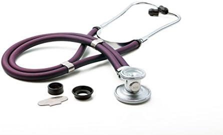 ADC – 768-641-11AV Pro's Combo II SR Adult Pocket Aneroid/Scope Kit with Prosphyg 768 Blood Pressure Sphygmomanometer and Adscope Sprague 641 Stethoscope with Nylon Carrying Case, Purple 31RWuKQNpnL