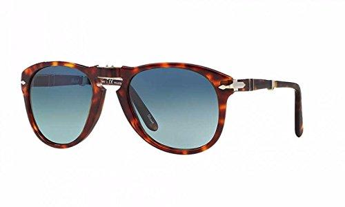Persol STEVE MCQUEEN LIMITED EDITION PO 0714SM Sunglasses, Havana, 54 mm by Persol
