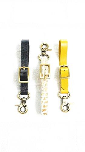 Design leather belt keychains
