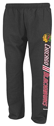 Chicago Blackhawks Fan Sweat Pants NHL Reebok Officially Licensed