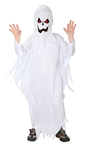 Jelord Kids Boys Halloween Costume Ghost Cosplay Costumes 4-6Y