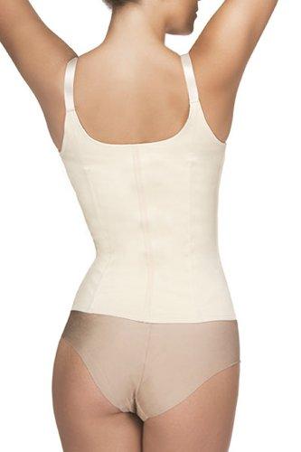 Vedette Shapewear 400 FELICE Underbust Waist Cincher w/ Zipper Nude Small
