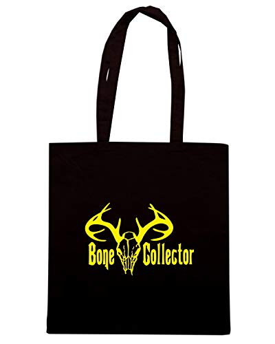 BONE HUNT Shirt FUN0836 81589 DEER Nera Borsa COLLECTOR Speed Shopper q7wPOxX