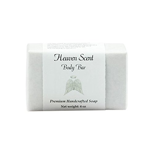 MoonDance Soaps & More Heaven Scent Soap - Handmade Soap for Softer Skin with Cocoa Butter, Shea Butter, Sweet Almond, Fragrance and Essential Oils (One Bar, 4 oz)