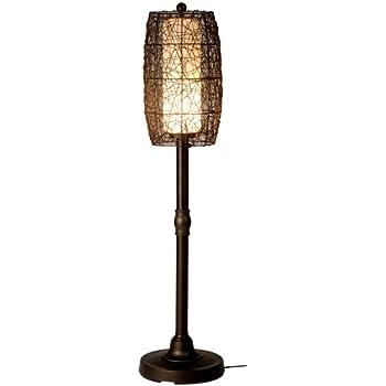 Bristol 68267 Bronze 70-inch Floor Lamp with Walnut Shade ...