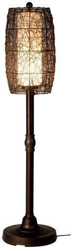 Aluminum Cylinder Floor Lamp (Bristol 68277 Bronze 58-inch Floor Lamp With Walnut)