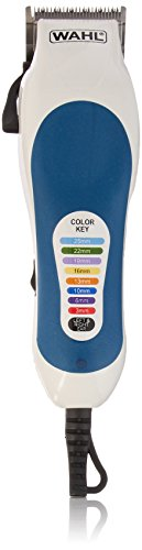 Wahl 79400 Color Coded Pro 20 Piece Haircutting Kit, 220 Volts ()