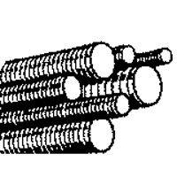 Porteous Fastener 170-2810-504 1/2-13x10 Hdg All Thread Rod