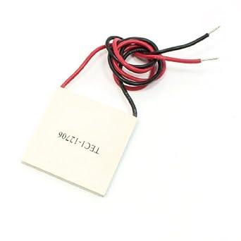 eDealMax a13082800ux0178 6 Amp, 50W 60C TEC1-12706 refrigerador termoeléctrico módulo generador de Power