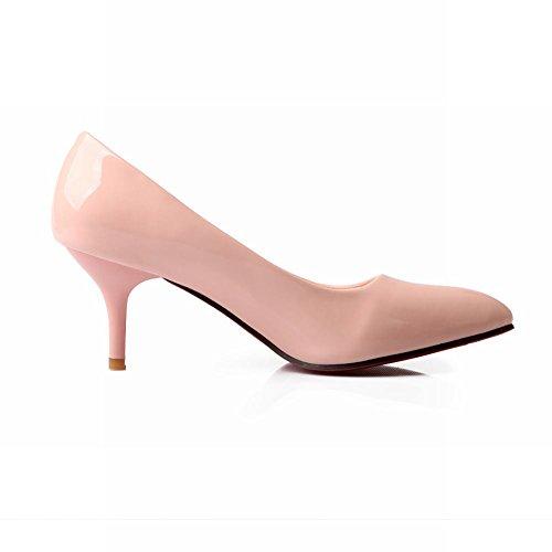 Vaaleanpunainen Teräväkärkiset Kengät Naisten Ytimekäs Kengät Korkokenkiä Tyylikäs Tuomioistuin Carol 8UBfwq8