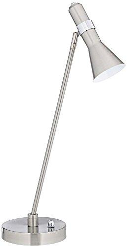 Nikko Brushed Steel Task LED Desk Lamp