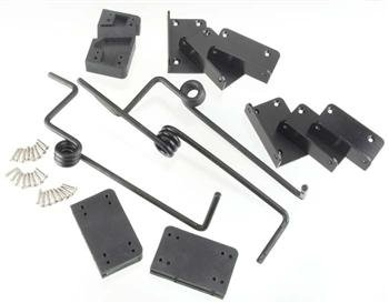 Top Flite Main & Nose Landing Gear Set: Fixed B-25