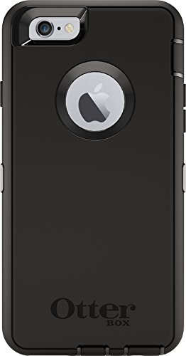 OtterBox Defender Series 77-50732 Protective Case for iPhone 6 Plus - Frustration Free Packaging - Black (Iphone 6 Cases Canada)