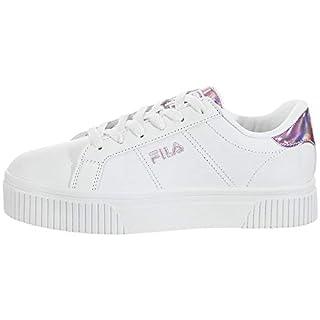 Fila Women's Panache Sneaker, White/White/Chalk Pink, 8