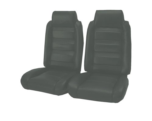 Acme U208-0702 Front Charcoal Vinyl Bench Seat Upholstery