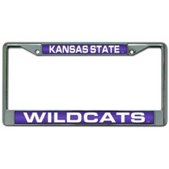 Kansas State Wildcats Collectibles (NCAA Kansas State Wildcats Laser Cut Chrome Plate Frame)