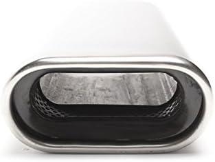 TA TECHNIX tubo finale acciaio inox universale 70/X 140/mm piatto//ovale