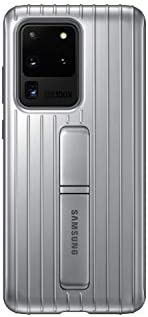 Samsung Galaxy S20 Ultra Case, Rugged Protective Cover - Silver (US Version with Warranty) (EF-RG988CSEGUS)