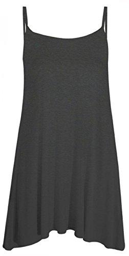 Gris TrendyFashion Vestido TrendyFashion Oscuro Oscuro Vestido TrendyFashion Gris Gris Vestido PS1fwx