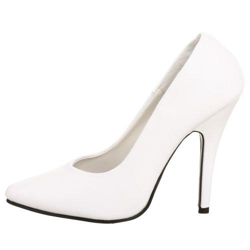 Pleaser Donna Scarpa Tacco Blanc 420 Con blanc seduce Da Eu Zqx0wfSrZ