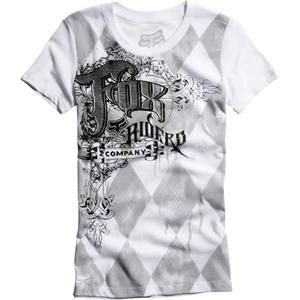 Fox Racing Girls Camisetas – Fox Girls Resistance té 12 White