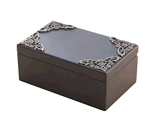 Anakin.jerry Black Vintage Rectangle Music Jewelry Box : The Merry Go Round of Life Theme (Soundtrack)