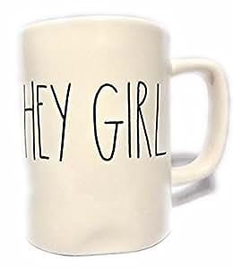Rae Dunn/Magenta HEY GIRL mug
