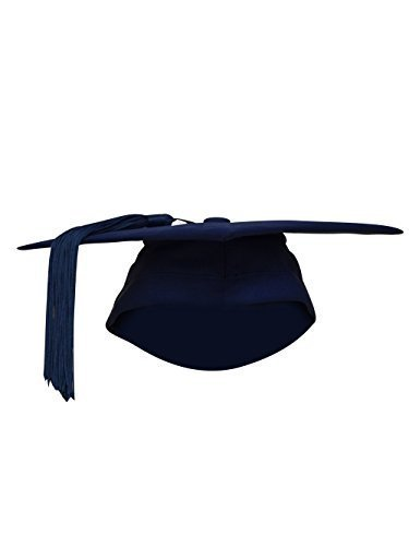 BULK BUY - 50 x Fitted Mortarboard / Trencher Caps Any by Ashington Gowns
