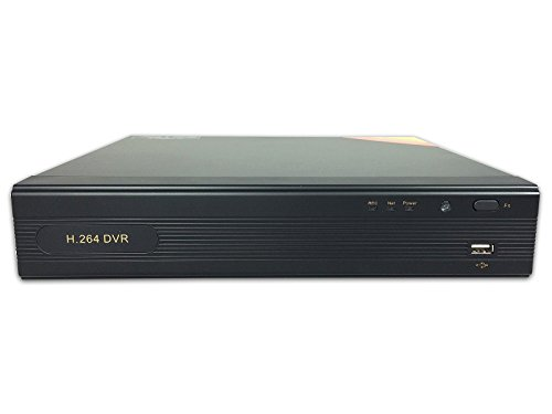 Aposonic Compact 4-Channel AHD 720P / Analog 960H Hybrid Surveillance DVR, Mobile (240 Fps Real Time Dvr)