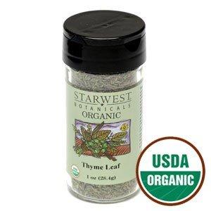 Organic Thyme Leaf Jar - .94 oz