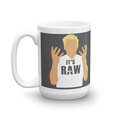 Gordon Ramsay -It's RAW! 15 Oz White ()