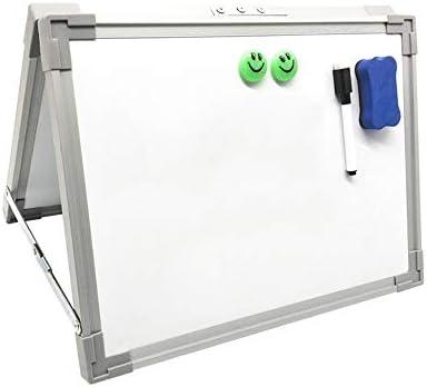 ホワイトボード オフィスホーム個人的な使用のための磁気ホワイトボード乾燥消去小さな白いボード子供キッズポータブルとミニデスクトップ卓上 ホワイトぼーど 掲示板 メッセージボード (色 : 白, サイズ : 30x40cm)