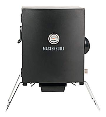 Masterbuilt MB20073716 Patio-2-Portable Electric Smoker, Black by Masterbuilt