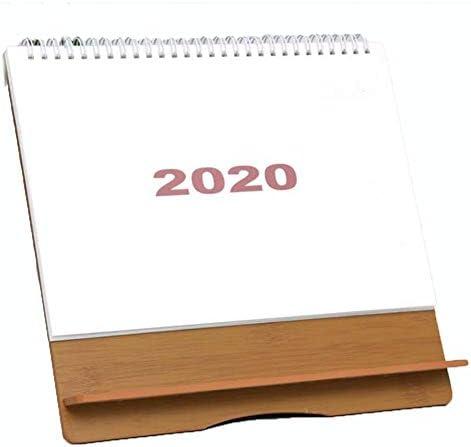 Chalkalon 2020 Tischkalender Einfacher Stil Täglicher Kalender Zeitplan Memo Desktop Flip Kalender für Home Office Schulgebrauch