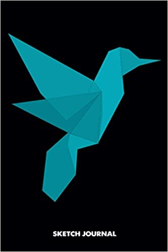 Sketch Journal Origami Bird Low Poly 3d Dragon Triangle Paper